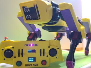 基于NovaSM3的DIY机器狗