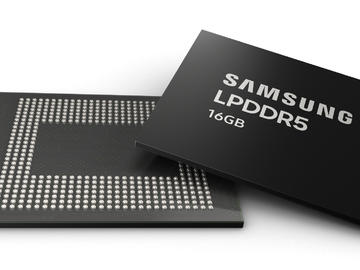 三星宣布量产业界首款16GB LPDDR5内存