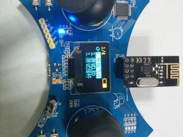 【北极星】基于STM32F103的微型四轴遥控器