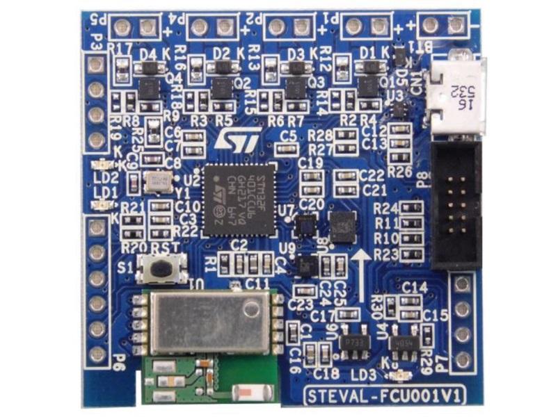 STM32 中小型四轴飞行器控制板设计