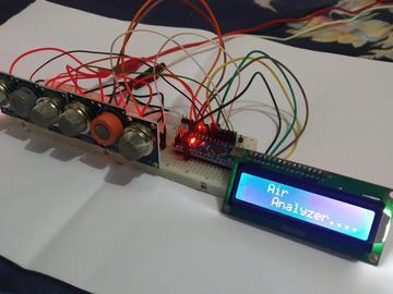 基于Arduino的空气分析仪