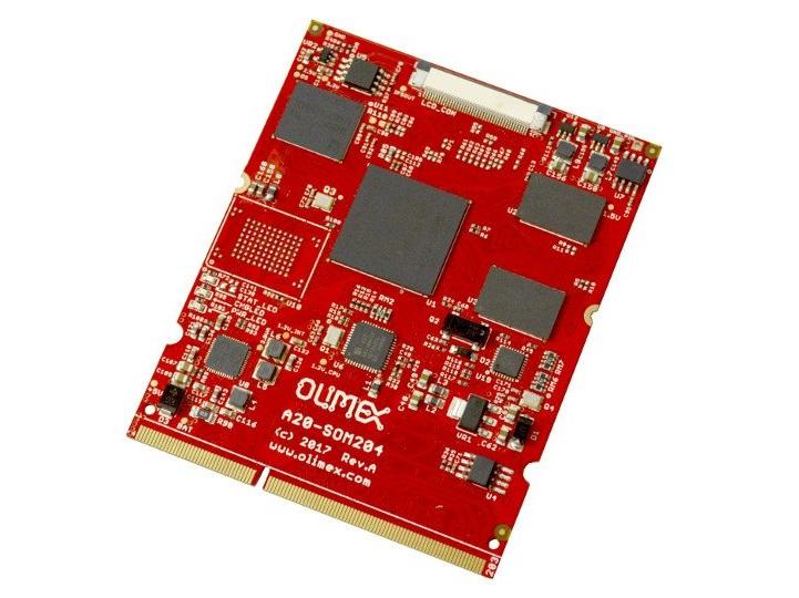 A20-SOM204 模块最新电路图开源分享
