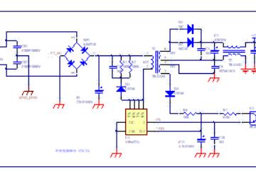 精简12V 2A开关电源电路设计方案(PCB+电路原理图)