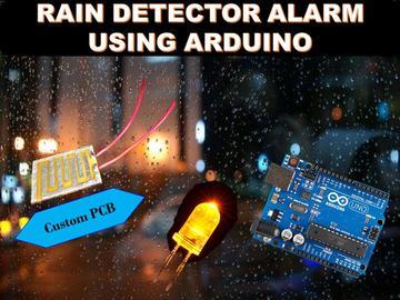 使用Arduino Uno的雨水探测器报警