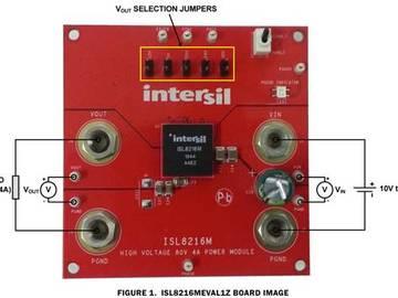 简单易用的高压DC/DC模块ISL8216M,轻松实现完整的高电压电源设计