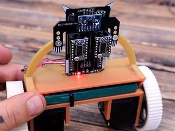 基于 ATMega328p-PU 的迷你平衡机器人设计