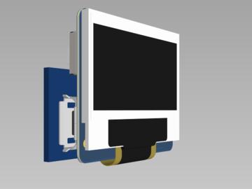 基于ESP8266设计的OLED天气时钟电路方案(PCB+原理图+源程序)