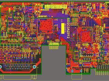 伺服驱动器方案某量产型号基于F28M35H52C设计开发
