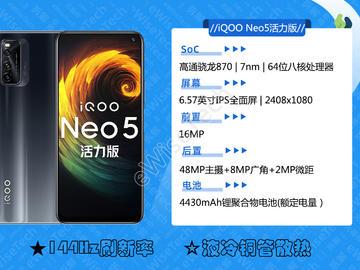 E拆解:iQOO Neo5活力版的高性价比都在哪实现的呢?