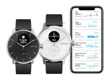 2020 CES:Withings推出支持ECG和睡眠呼吸暂停监测的智能手表