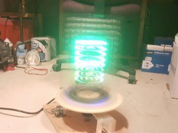 基于Atmega328de LED矩阵显示器视觉持久性的设计