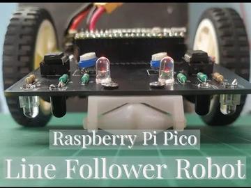 通过树莓派制造直线跟随机器人