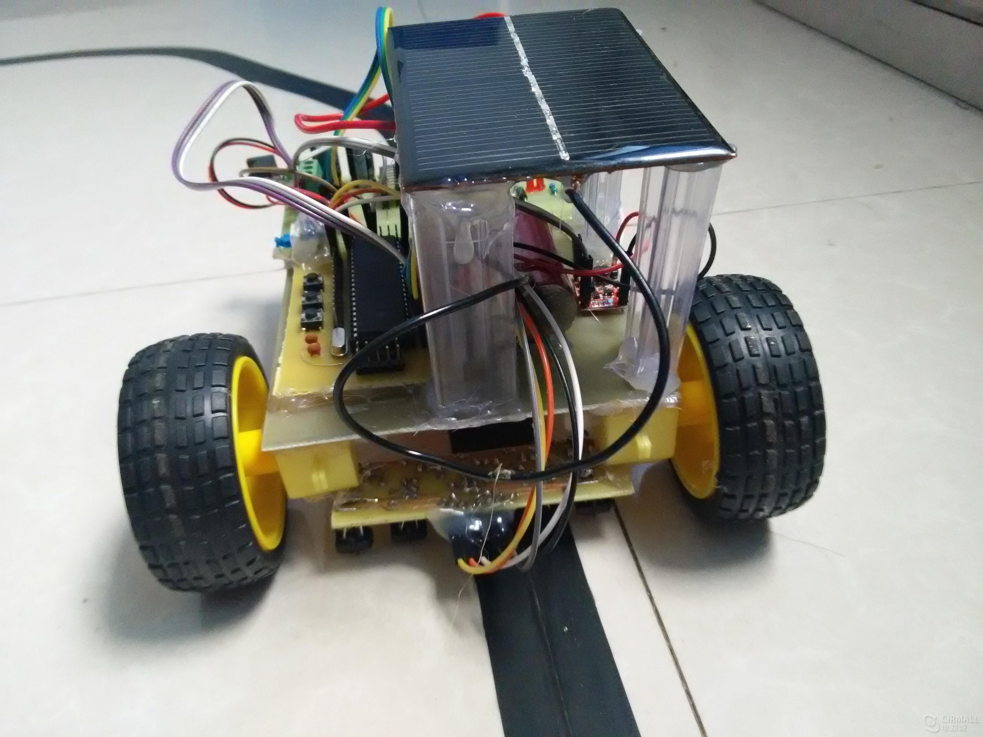 太阳能循迹小车资料