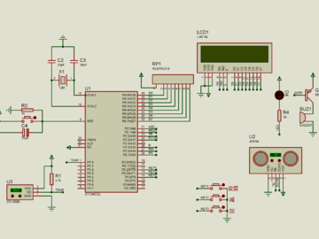 基于单片机的超声波油位测量仪的设计(仿真+源码+原理图+设计流程+硬件清单+视频讲解)