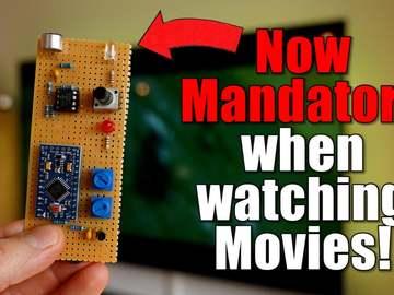 基于Arduino的电影背景音量自动调节器