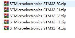 STM32元器件库封装库 F0 F1 F2 F3 F4全系列AD元器件库&封装库