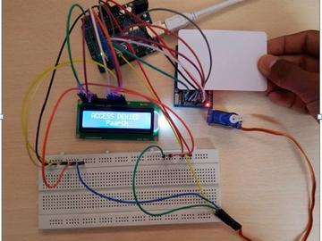 基于arduino的RFID门锁系统