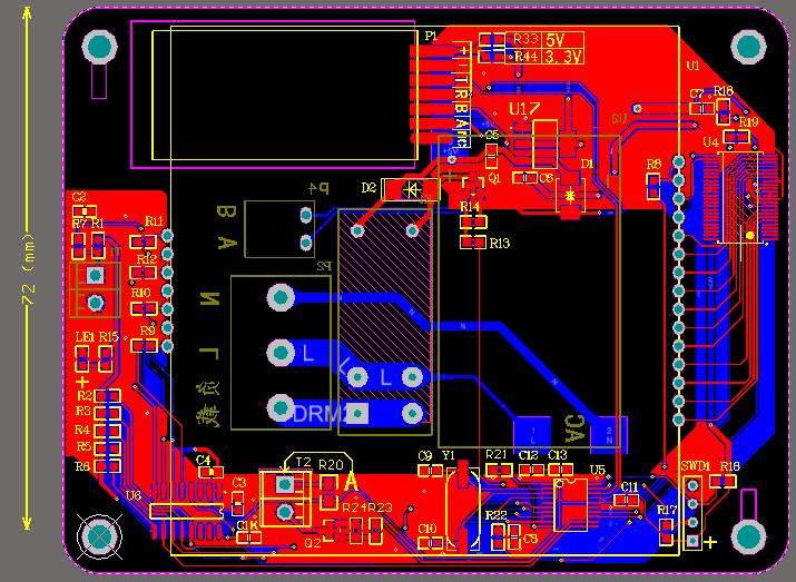 温控器(可选有线485 无线)