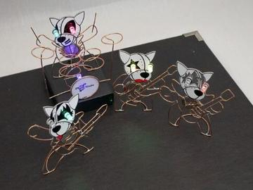 Hackaday电路雕塑比赛作品——Tindie吉祥物