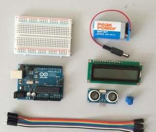 基于Arduino的简易测距仪