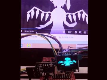 Arduino驱动OLED显示bad apple动画