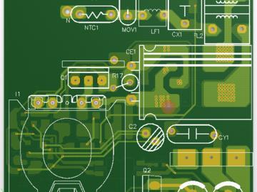 45W开关电源电路设计方案(AD文件,有测试数据可供参考)
