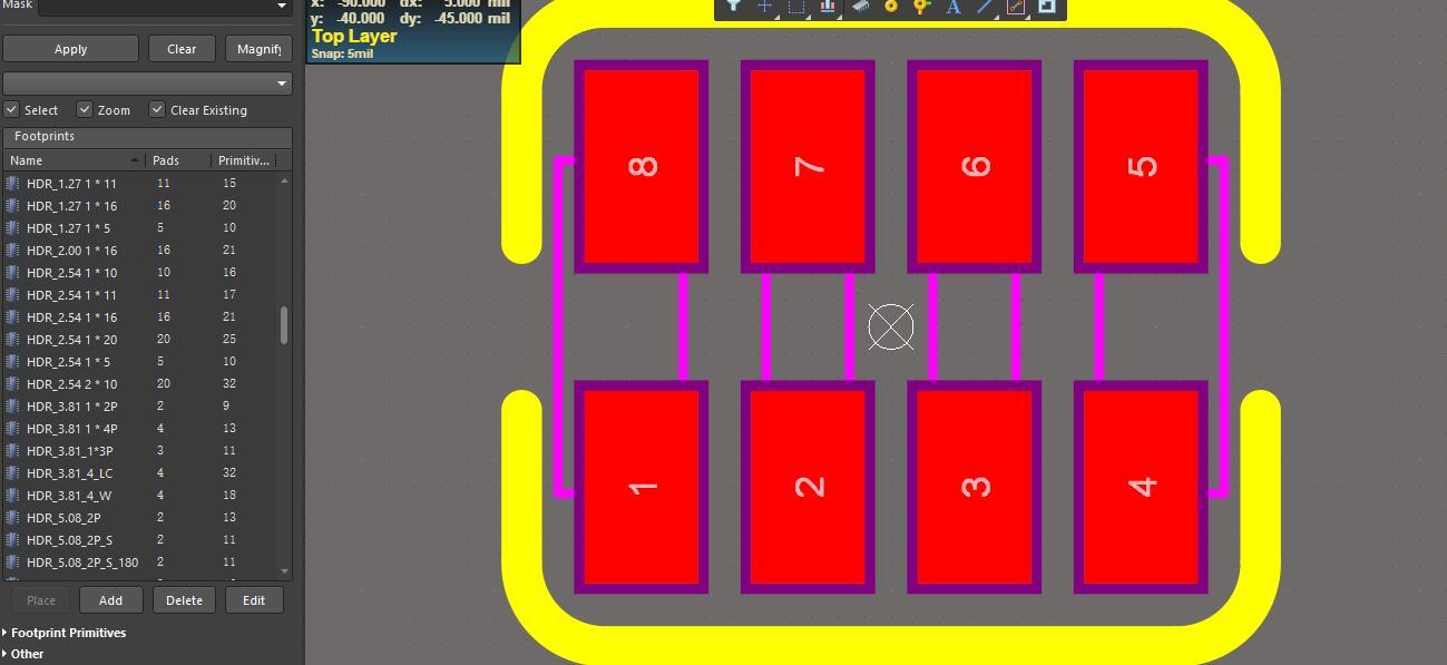 AltiumDesigner 一些常用的原理圖和封裝庫