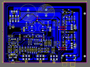 立体声功放电路LM1875/TDA2030