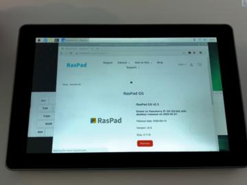 便携式Raspberry Pi 4平板电脑-RasPad 3首秀