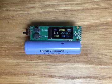 基于N76E003的非接触式体温计(额温枪)源码+PCB