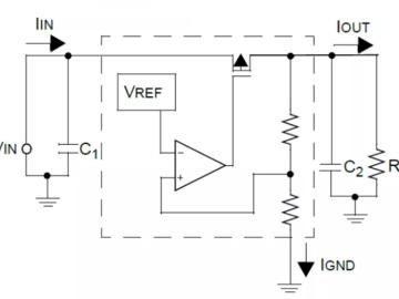 控制静态电流,如何使用LDO实现5V转3.3V的电路设计?