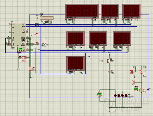 一款由单片机制作的省电护眼台灯方案+源代码