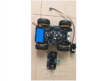 基于STM32f401的遥控智能小车电路方案(pcb+源码)