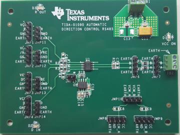 基于NA555的RS-485收发器的自动方向控制电路设计