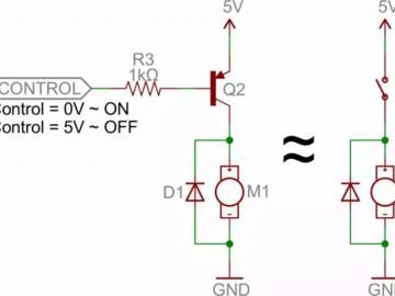 8 个实例图片阐述述三极管作为开关的功能