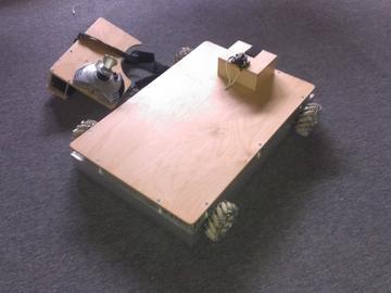 自动泊车麦克纳姆机器人