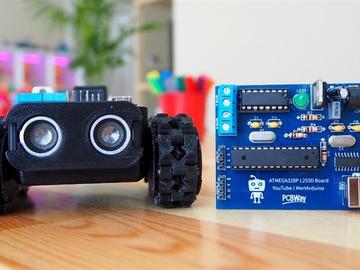 基于Arduino开发板设计的机器人完整电路方案