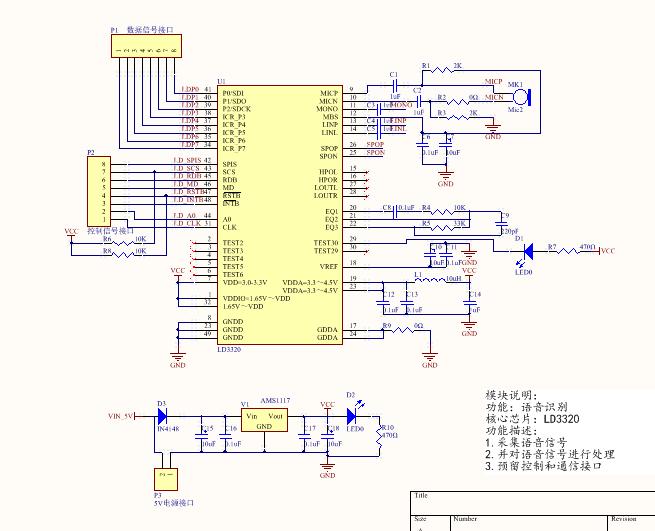 基于語音識別技術的小燈控制系統