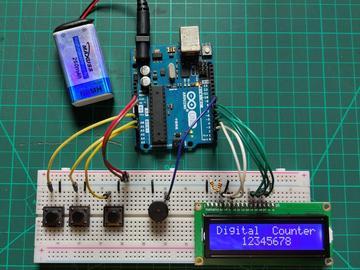基于Arduino的数字计数器