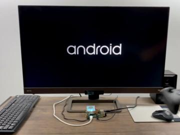 带有硬件加速功能的Raspberry Pi 4的Android TV 10
