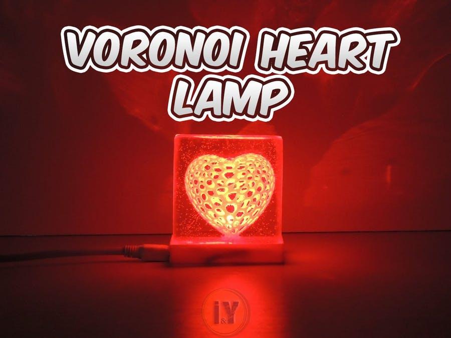 漂亮的Voronoi心形燈
