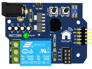 基于ESP8266 ESP-01 的带屏蔽编程器
