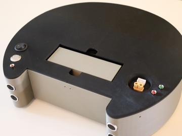 基于FPGA的3D打印清洁机器人