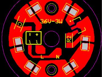 220V-3W-球泡灯方案