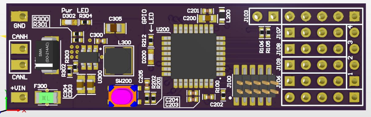 【CAN模塊】基于ATMEL ATSAMC21E18A的CAN模塊