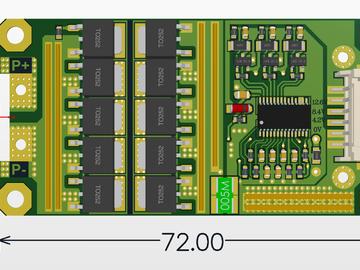 BM3451三串18650电池保护电路设计方案(sch+pcb)