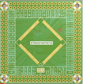 stm32f407核心板