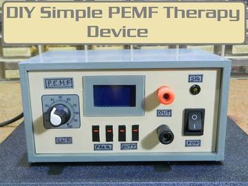 DIY便宜又方便制作的PEMF磁疗仪