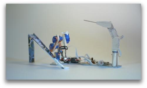 会模仿、会学习的酷炫小型机械臂电路图及代码 diy创意产品 电路城