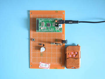 基于STM32单片机的无线315M门铃叮咚门铃系统设计-万用板-电路图+程序+论文89